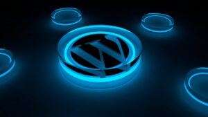 Wordpress Logo Glow Internet Blog - NajiHabib / Pixabay